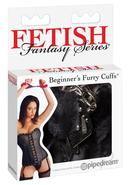 Fetish Fantasy Series Beginners Furry Cuffs Black