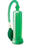 Pump Worx Silicone Power Pump Green