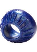 Turbine Silicone Cockring Blue Balls