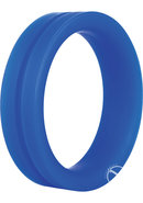 Ring O Pro Large Silicone Cockrings Waterproof Blue 12 Each...