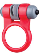 Screaming O Sport Vibrating Cockring Waterproof Red 6 Each...