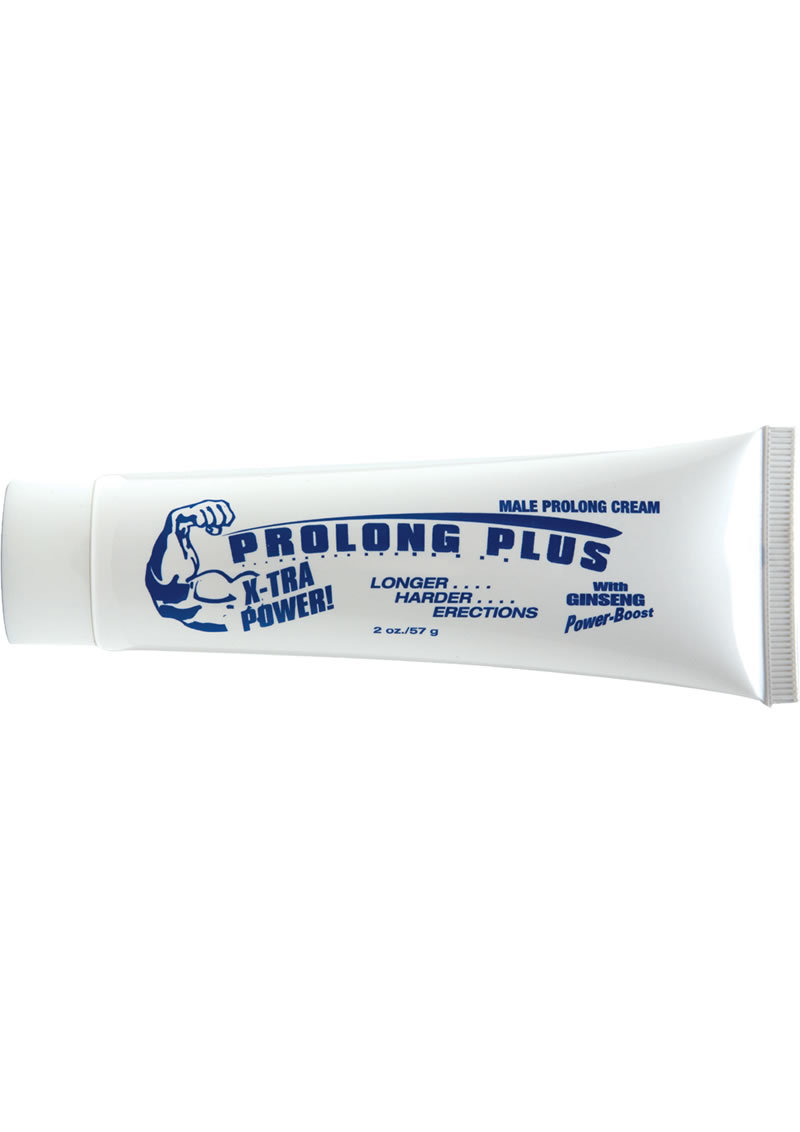 Prolong Plus With Ginseng Power Erection Creme 2 Ounce