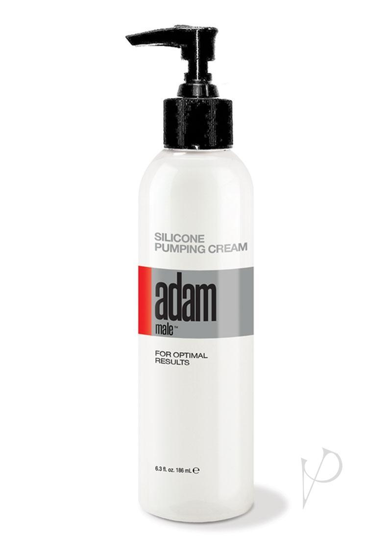 Adam Male Silicone Pumping Cream 6.3 Ounce